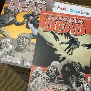 Two walking dead books